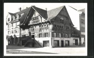 AK Dornbirn, Gasthof Weinstube Rotes Haus