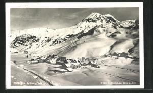 AK Zürs am Arlberg, Gesamtansicht im Winter
