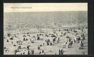 AK Stolpmünde, Partie am Strand