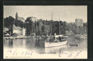 AK Thonon-Les-Bains, Ortsansicht