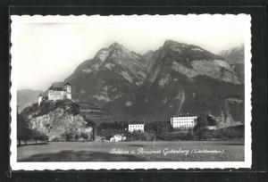 AK Balzers, Schloss & Pensionat Gutenberg