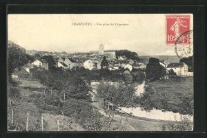 AK Champlitte, Vue prise des Crignottes