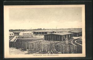 AK Sprottau, Kriegsgefangenenlager Waldlazarett / Allied P.O.W. Camp