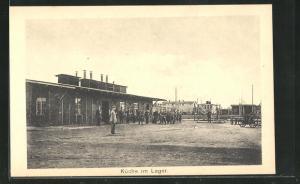AK Sprottau, Kriegsgefangenenlager, Küche im Lager