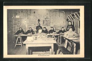 AK Sprottau, Kriegsgefangene in der Schreibstube