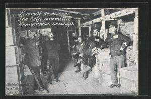 AK Langensalza, Le comité de secours, Kriegsgefangene
