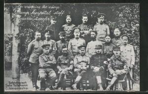 AK Langensalza, Les médicins du camp, Sanitäter in Kriegsgefangenenlager