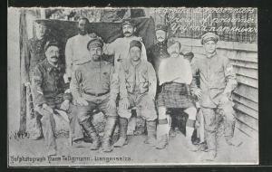 AK Langensalza, Kriegsgefangene verschiedener Nationen