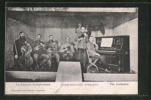 AK Langensalza, Le Concert Symphonique, Kriegsgefangenenorchester