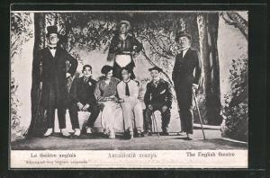 AK Langensalza, Le théâtre anglais, Englische Kriegsgefangenentheatergruppe