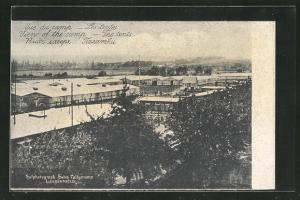 AK Langensalza, Les tents, Kriegsgefangenenlager