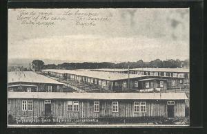 AK Langensalza, Les baraques, Kriegsgefangenenlager