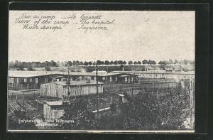 AK Langensalza, Les lazarett, Kriegsgefangenenlager, Krankenstation