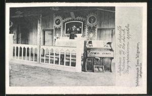 AK Langensalza, Intérieur de la chapelle, Kriegsgefangenenlager, Kirche