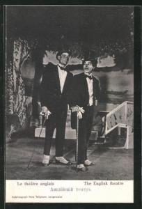 AK Langensalza, The English theatre, Kriegsgefangene