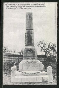 AK Langensalza, Kriegsgefangenenlager, Memorial Monument