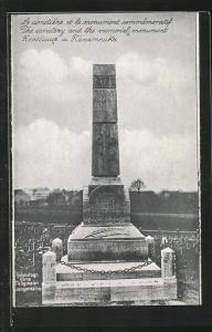 AK Langensalza, Kriegsgefangenenlager, Memorial Monument am Friedhof