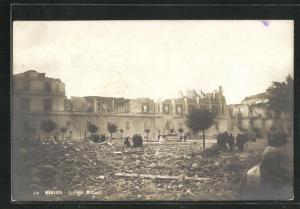 AK Messina, Collegio Militare, Zerstörungen nach dem Erdbeben