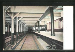 AK New York, Subway Station, U-Bahn-Station