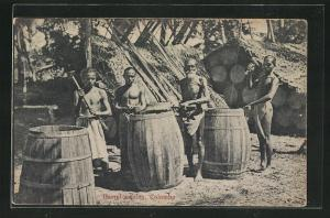 AK Colombo, Barrel making, Singhalesische Küfer