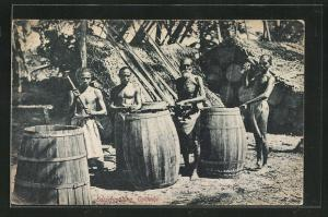 AK Colombo, Barrel making, Küfer