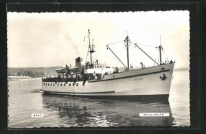 AK Passagierschiff Scillonian, Bugansicht