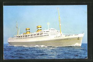 AK Holland-America Line, Passagierschiff S.S. Nieuw Amsterdam