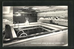 AK Canadian Pacific Empress of England, Swimming Pool