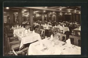 AK Empress of France Tourist Dining Saloon, Passagierschiff