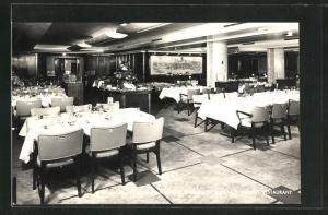AK Canadian Pacific Empress of England Tourist Restaurant, Passagierschiff