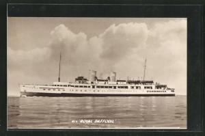 AK Passagierschiff M.V. Royal Daffodil, Passagierschiff
