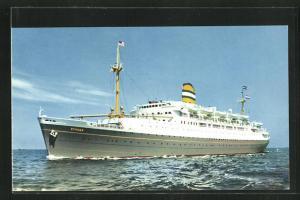 AK Holland-America Line Passagierschiff S.S. Ryndam