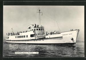 AK Guernsey, Passagierschiff Commodore Queen