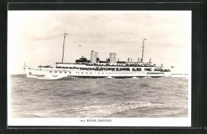 AK Britisches Passagierschiff m.v. Royal Daffodil