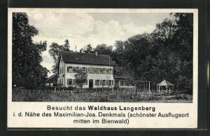 AK Kandel / Pfalz, Restaurant Waldhaus Langenberg