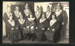 Foto-AK Schönau / Schwarzwald, Fastnacht-Gesellschaft 1928