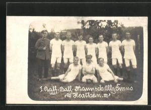 AK Harthau, 1. Fussball-Mannschaft des Allg. Turnvereins