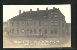 AK Leipzig-Gohlis, Kaserne im Mücken-Schlösschen