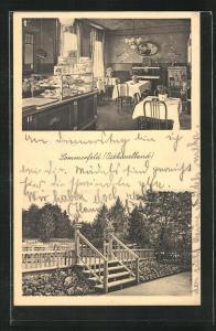 AK Sommerfeld / Osthavelland, Cafe und Konditorei von Adolf Lobedan