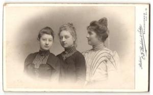 Fotografie C. F. Beddies & Sohn, Braunschweig, Portrait Mutter mit ihren Töchtern