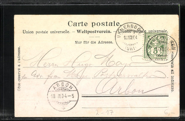 AK Schweizerische Gebirgspost, Postkutsche unterwegs in den Bergen 1