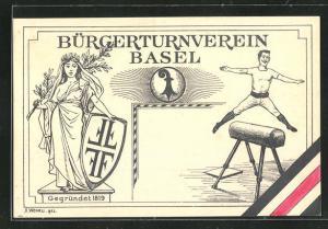 AK Basel, Bürgerturnverein von 1819, Sprung über das Pferd