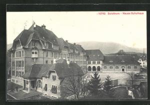 AK Solothurn, Blick auf das neue Schulhaus