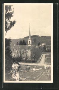 AK Baar, Blick zur Kirche