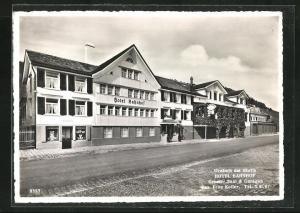 AK Urnäsch, Hotel Bahnhof