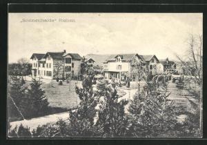 AK Riehen, Villenpartie in Sonnenhalde