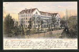 AK Basel, Blick zum Missionshaus