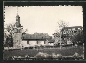 AK Hermance, Blick auf die Kirche