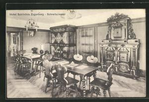 AK Zugerberg, Hotel Schönfels, Schreibzimmer