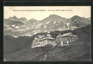 AK Urnäsch, Alpenkurhaus Bergwirtschaft Kräzerli